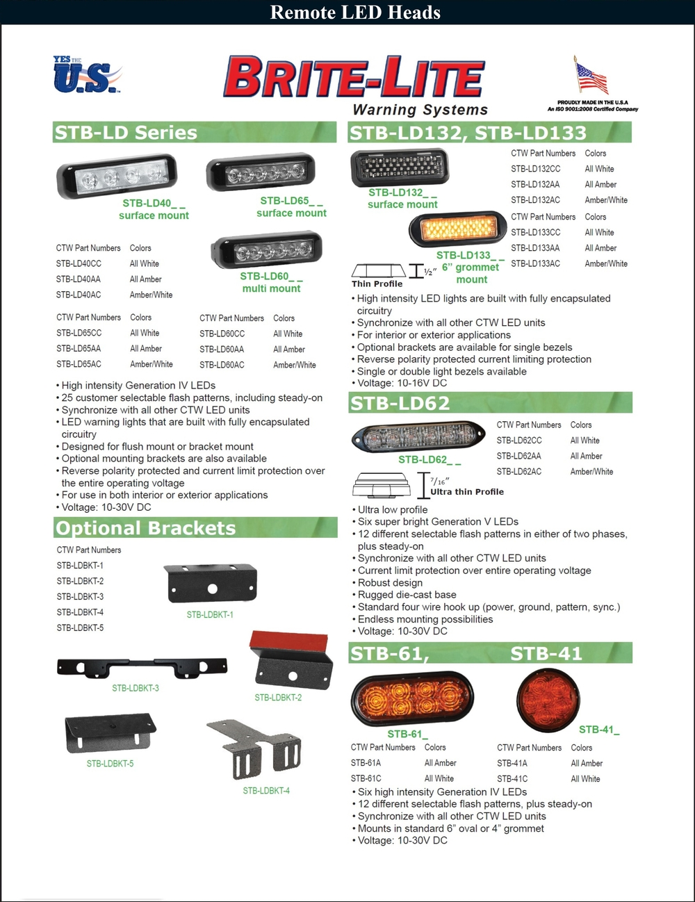 Remote LED Heads