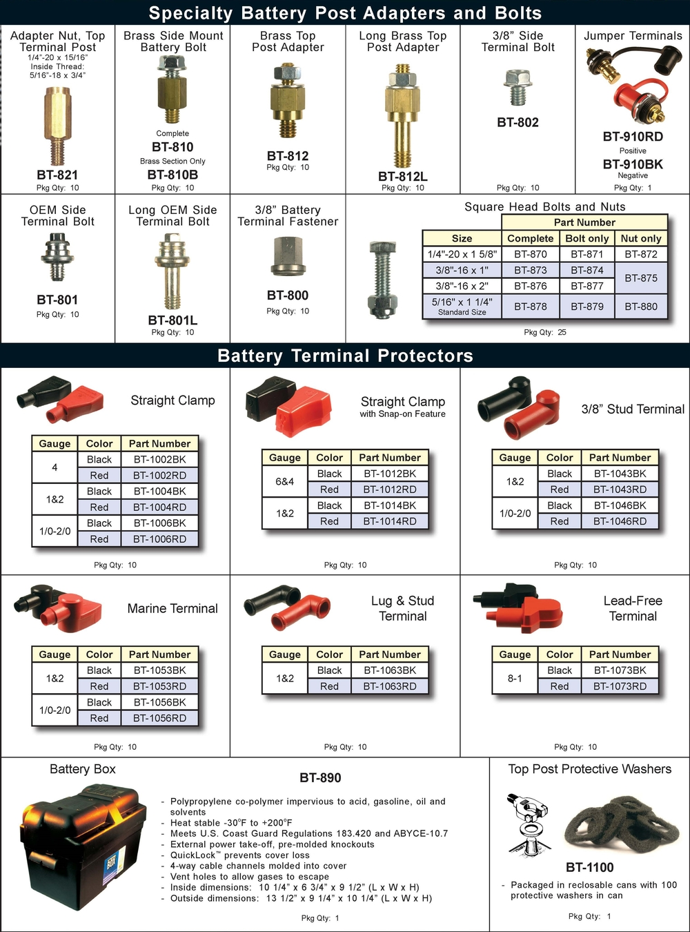 Battery Adapters and Accessories